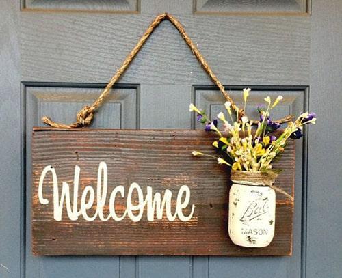 bảng welcome đẹp